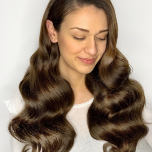 Bridalhairtorontoshinywaves